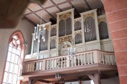 Die Orgel der kath. Stadtpfarrkirche St. Philippus und Jakobus