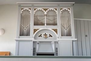 Die Orgel der evangelischen Kirche