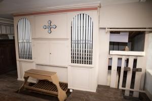Die Orgel der Friedhofskapelle St. Gangolf