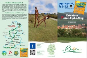 Flyer Point Alpha Weg