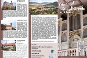 Die 3 Knauf-Orgeln in Geisa