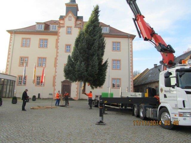 Herrmann Massivholzhaus weihnachtliche dekorationen